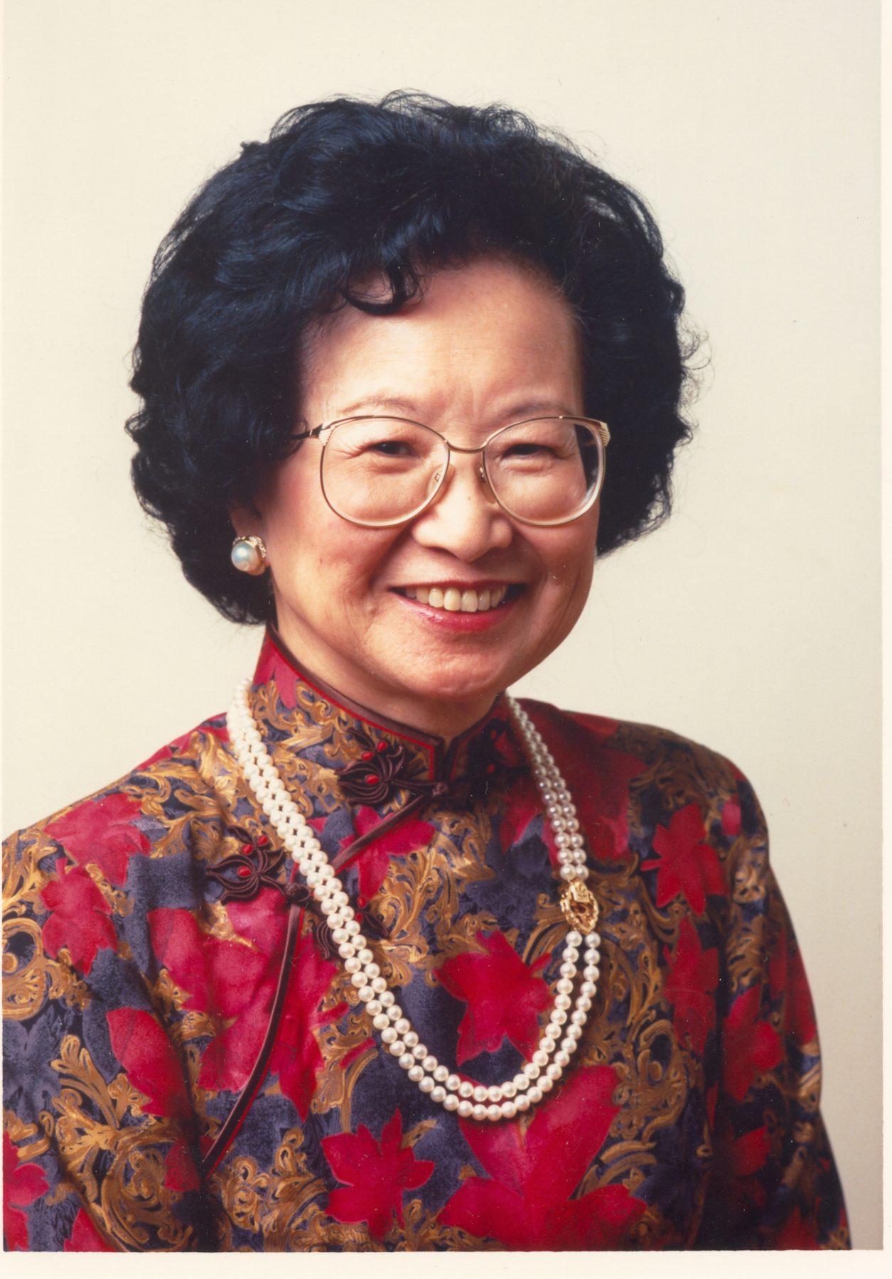 Mrs. Ruth Mulan Chu Chao, philanthropist.