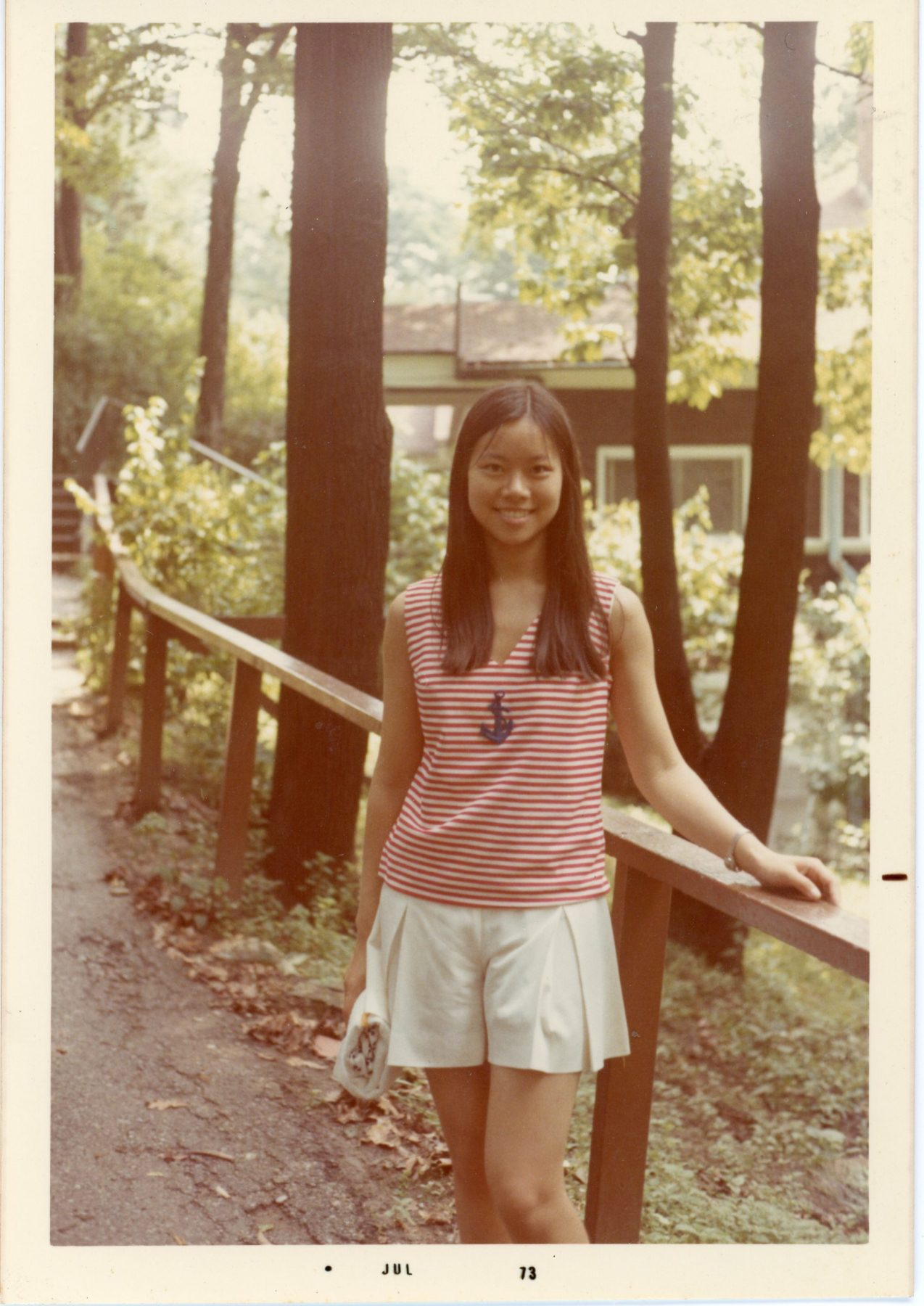 Elaine Chao at age 19, when she got her citizenship.
