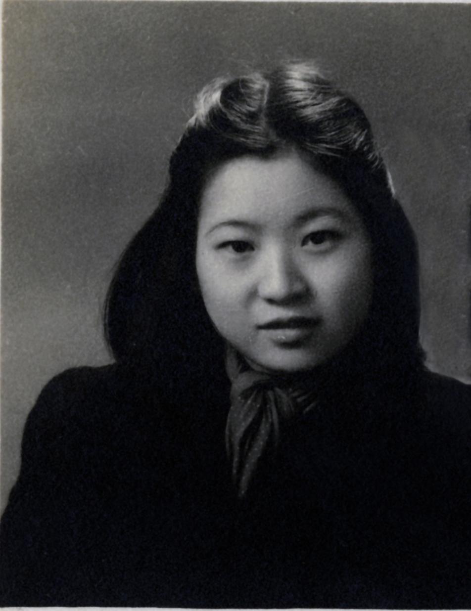 Mrs. Ruth Mulan Chu Chao, age 19, in Shanghai.