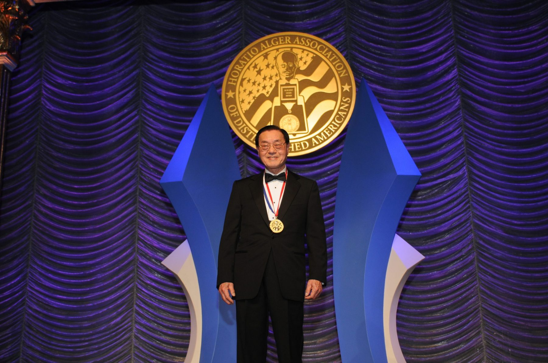 Dr. James S. C. Chao, awardee at the Horatio Alger Association of Distinguished Americans 65th Annual Gala.